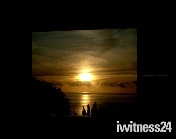 Framed sunset C