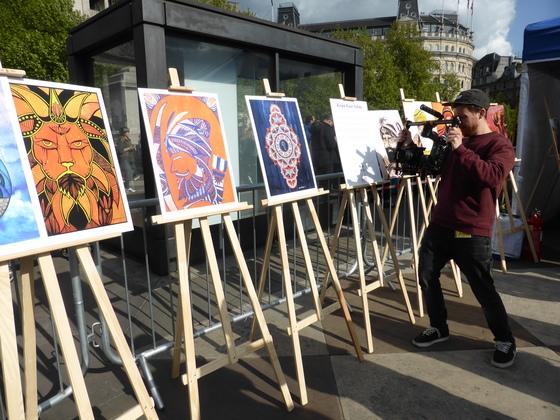 Vaisakhi Celebrations in Trafalgar Square London