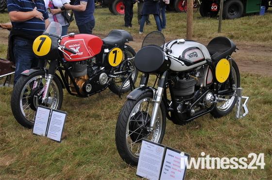 1962 Matchless G50 and 1958 Manx Norton 500cc