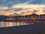Exmouth Seafront by night
