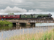 Flying Scotsman from Batch road Puriton