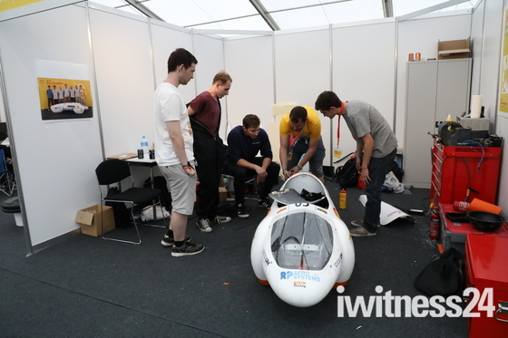 Eco-marathon shell Hertfordshire university