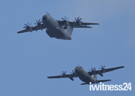 Royal Air Force fly-past 17 June 17 over Suffolk