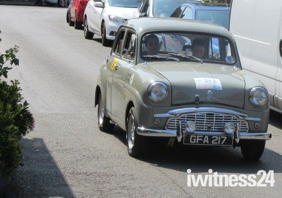 Classic Car Rally in aid of Essex Air Ambulance