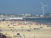 Lowestoft Beach on Sunday 18th june