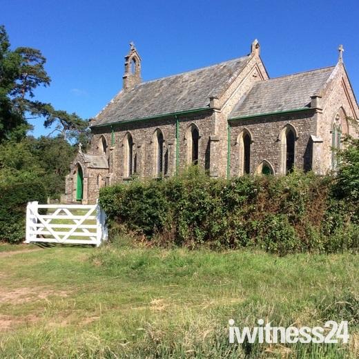 Escot church at fairmile