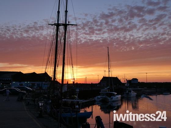 Wells Summer Sunset