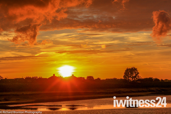 Kings Lynn sunset - part 1