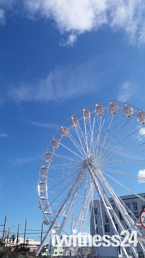 Big wheel on Weston-super-Mare seafront