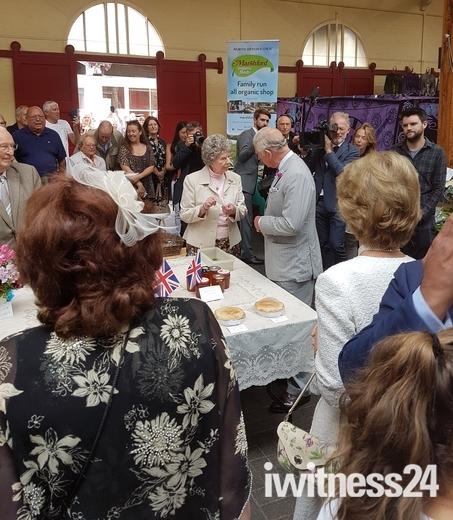 Royal Visit to Barnstaple Pannier Market