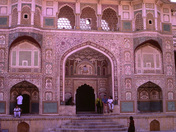 The Gateway to  India.  Girl from Munigudi. Palace.