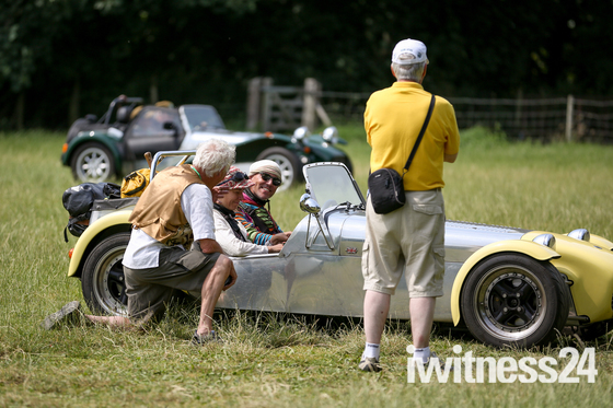 Lotus 'Pit Stop' Nostalga at Kentwell Hall