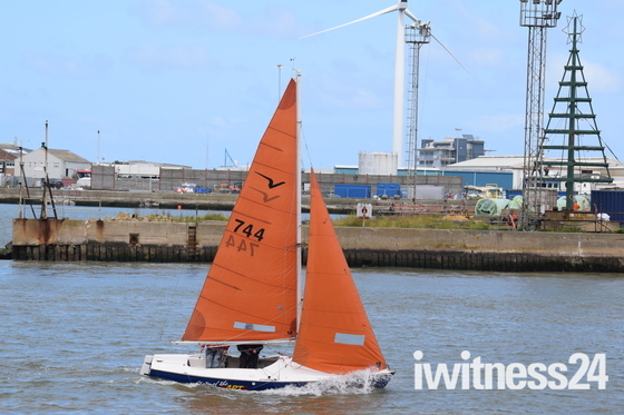 More sailing off Lowestoft