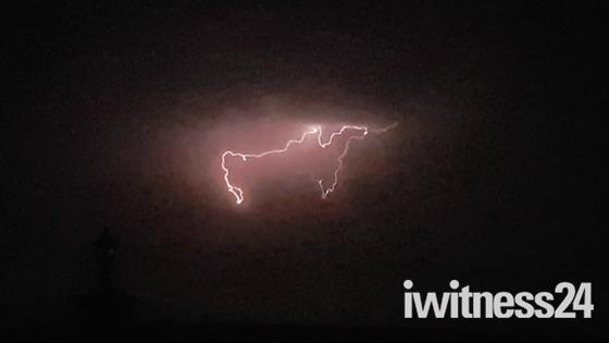 Lightning in Spain