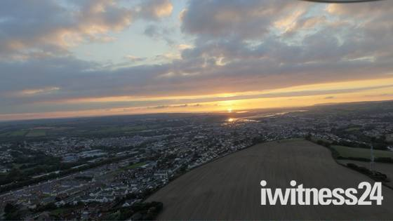 Barnstaple from up high