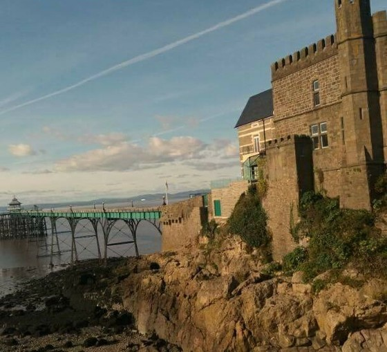 Clevedon Seafront.