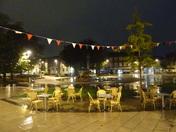 The Strand at night