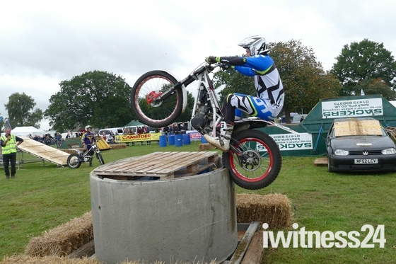 Copdock Bike Show 2017 - More pics from the Trials arena