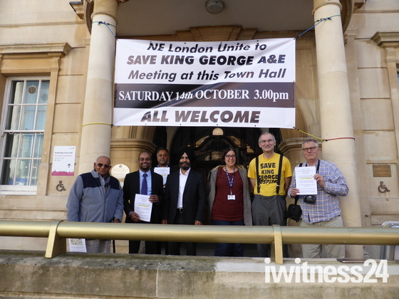 Save King George A&E _ March and rally