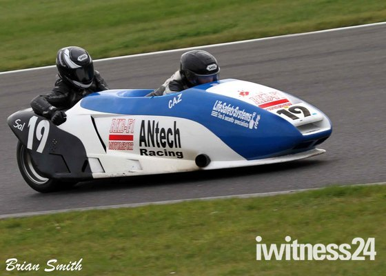 CAZ and SAL at snetterton .
