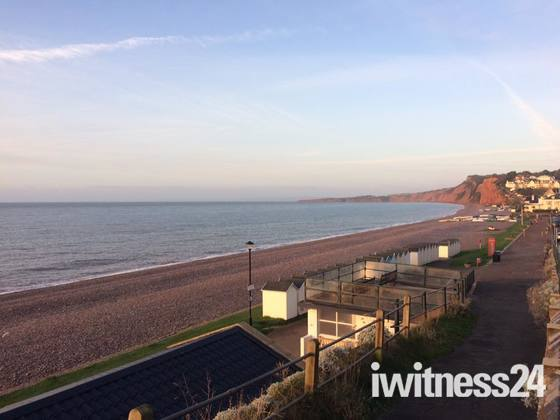 Budleigh at sunrise this morning