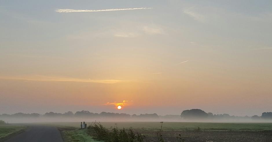 Markelo bij zonsopkomst
