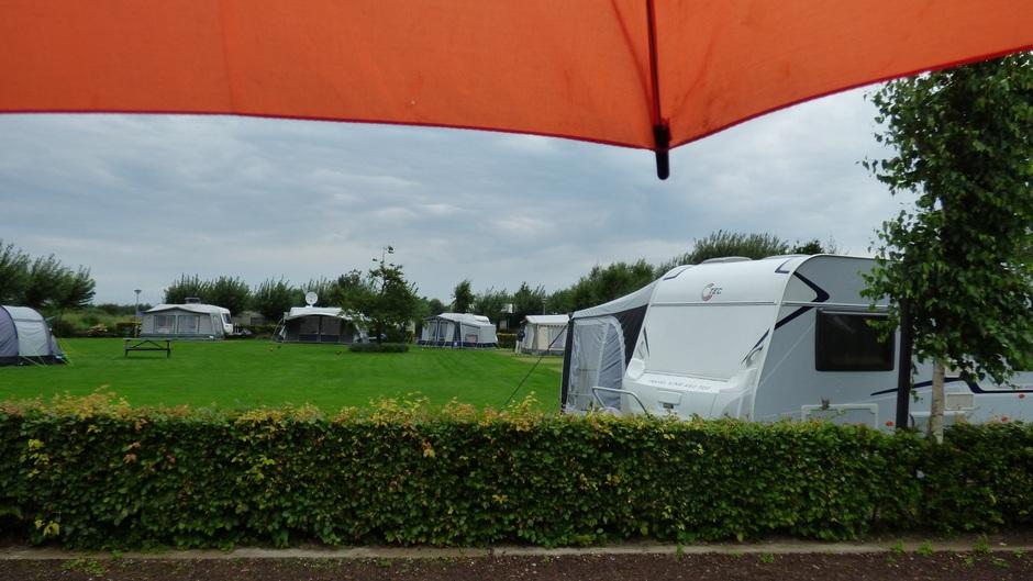 pittig op de camping