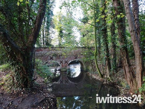 Beckettswell bridge at wymondham