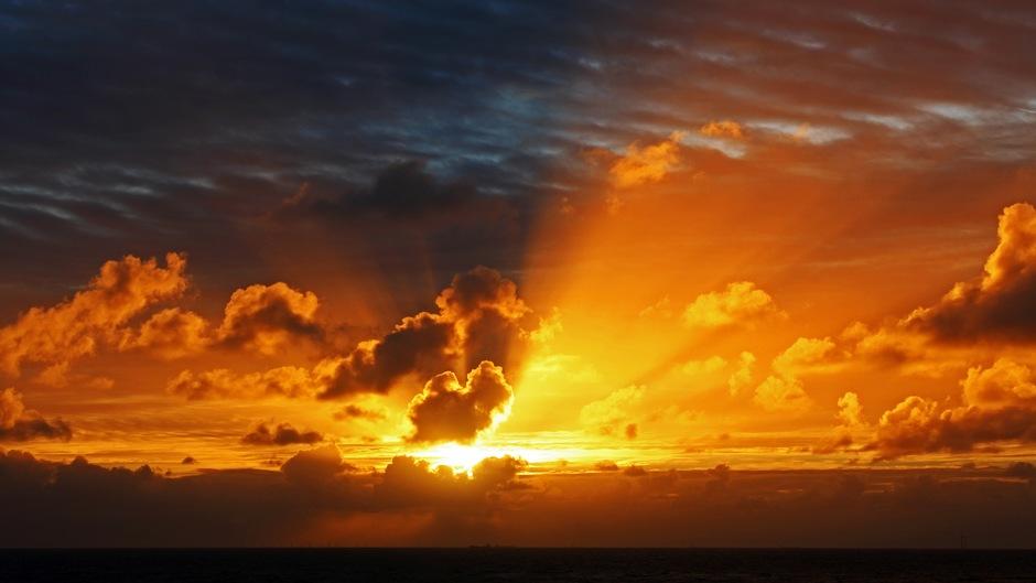 Sprookjesachtige Zonsondergang