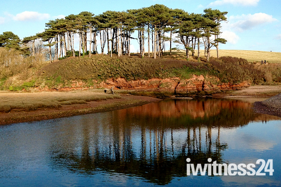 Budleigh's most famous landmark