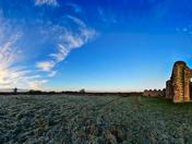 frosty abbey