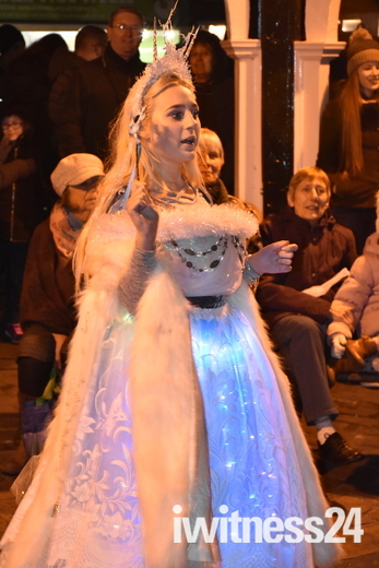 Bungay Christmas Lights Switch On