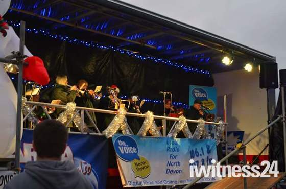 Bideford Christmas Lights Switch On 2017