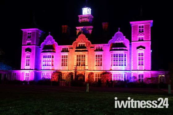 Blickling Hall Light Show