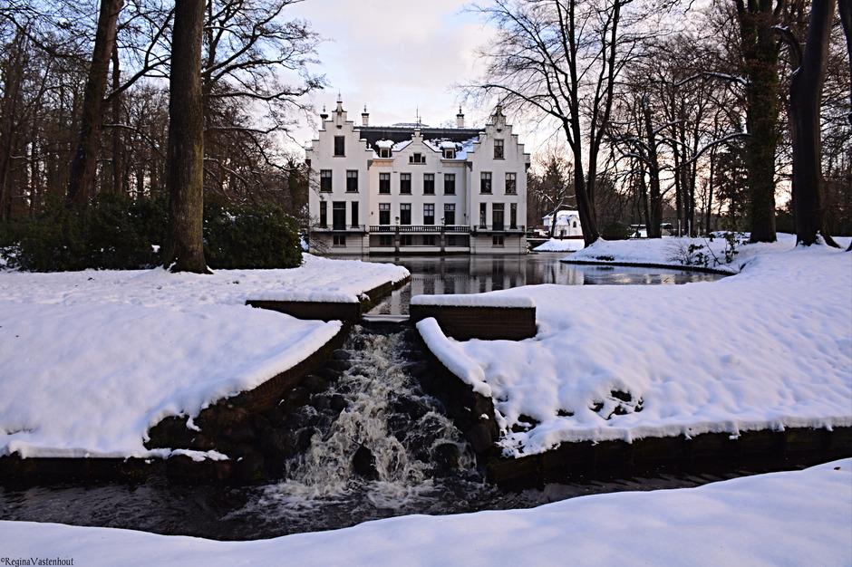 Laatste resten sneeuw in Staverden!!