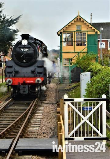 Sheringham steam train