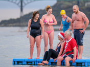 Clevedon Marine Lake New Years Day Swim