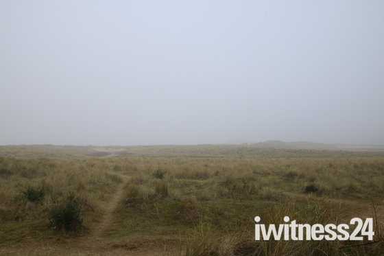 Foggy Holkham Beach