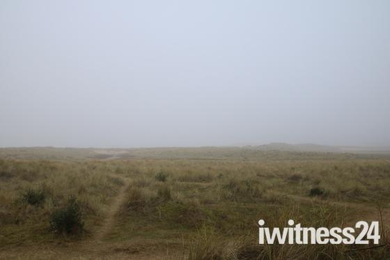 Foggy Holkham Beach