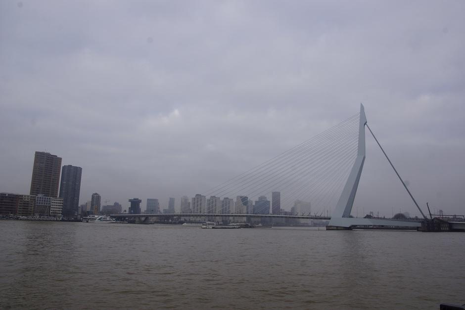 Een grijze dag in Rotterdam