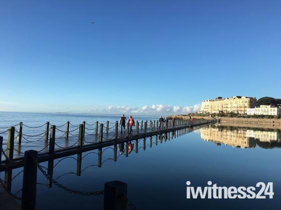 January in Weston-super-Mare