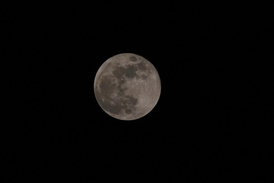 Blauwe super maan