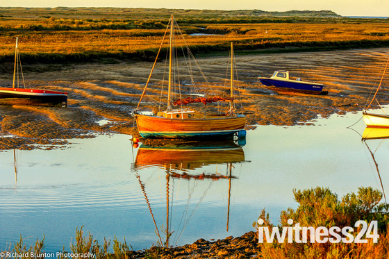 Reflections - Burnham Overy Staithe