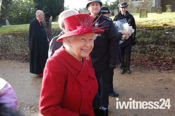 Queen at West Newton today