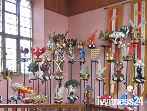 Crowns and Crest Exhibition, Layer Marney Towers