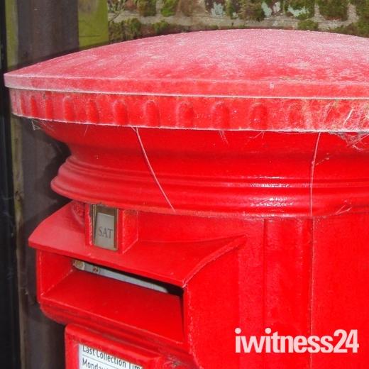 Pillar Box Red!