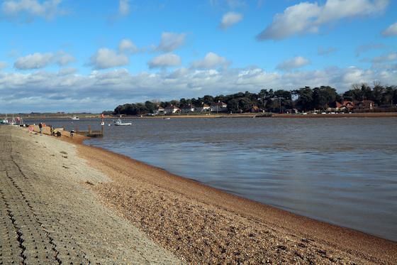 Sunday Morning at Felixstowe Ferry