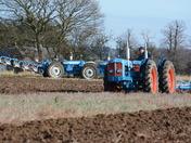 Doe Triple D Tractors ploughing