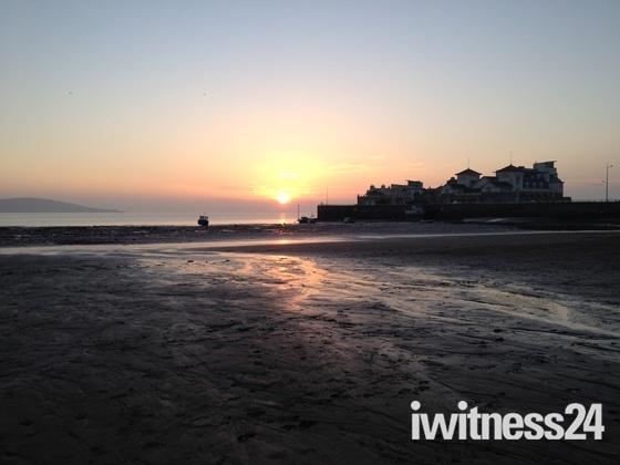 Weston beach