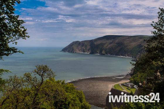 Lynmouth Bay, North Devon